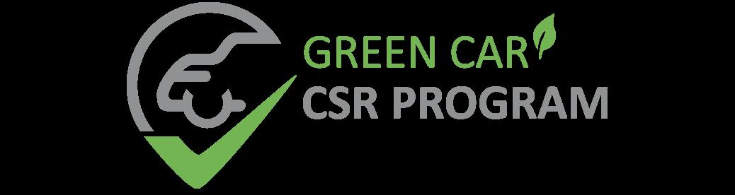 Green Car Prémium Szerviz CSR Program