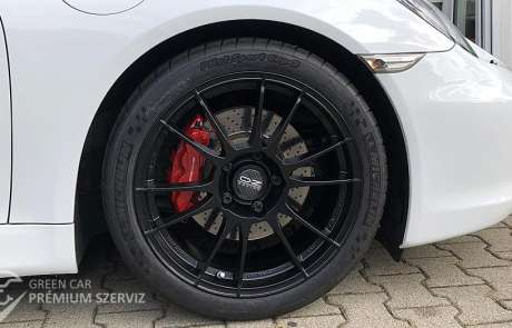 Porsche-tuning: Egy csodás 981-es
