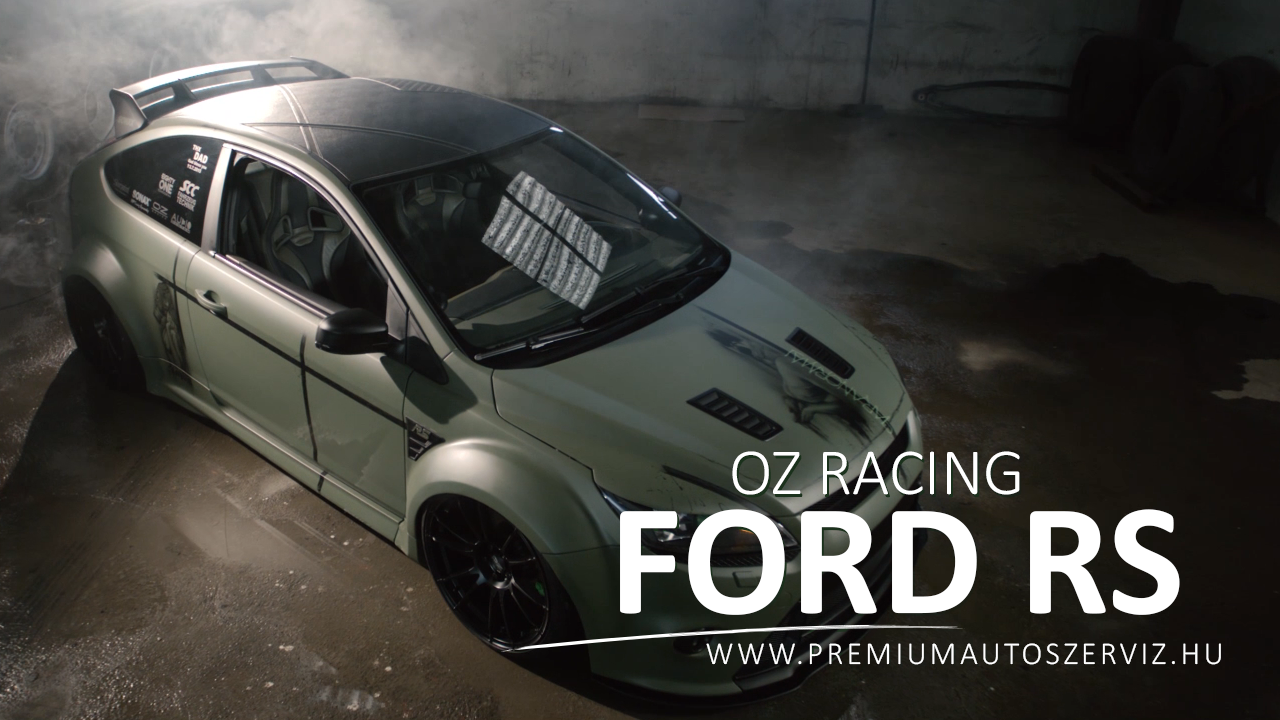 OZ Racing ➤ Egy brutális Ford Focus RS Autótuning OZ felnikkel