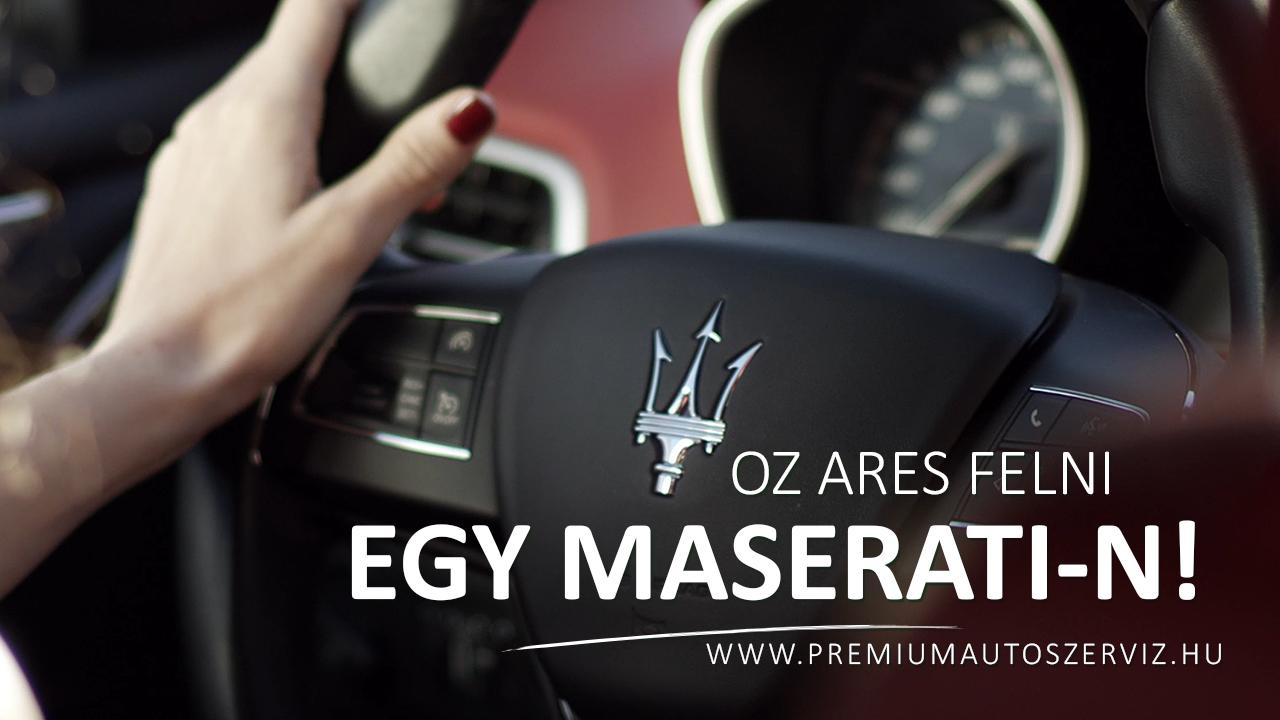 Hogyan mutat az OZ Ares tuningfelni egy Maserati-n? ➤ Ezt nézd meg!
