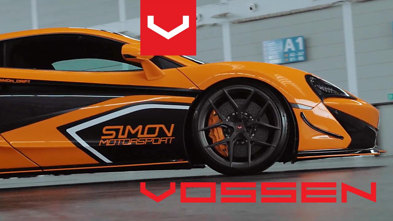 Vossen alufelnik egy McLaren 570s-en!