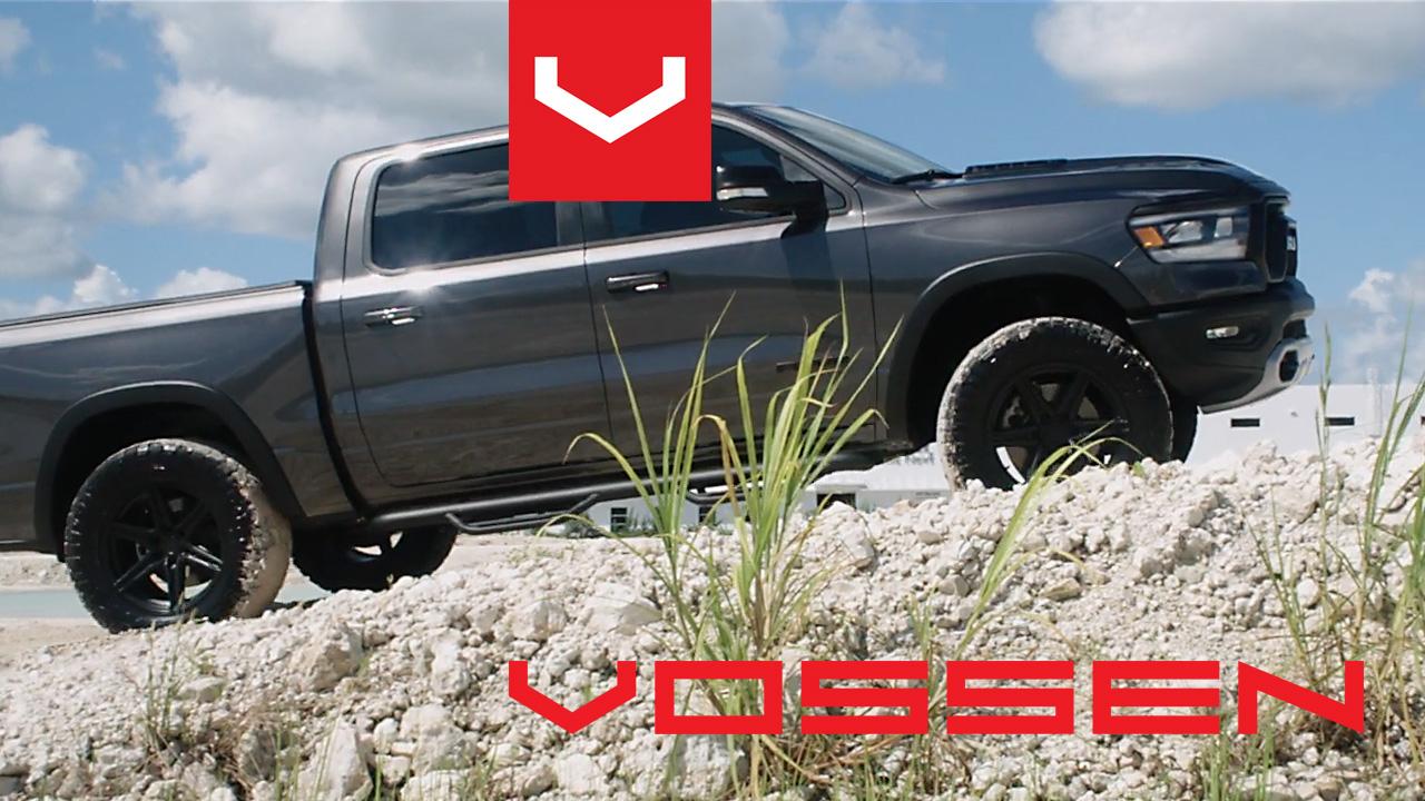 Vossen RAM Trucks Rebel 1500 ➤ Hybrid Forged HF6-2 Alufelni